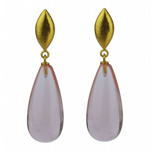 Corine - Drop Earrings - Soft Champagne